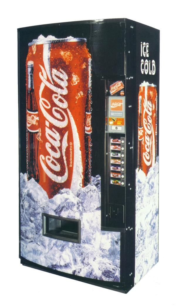 coca cola big machine