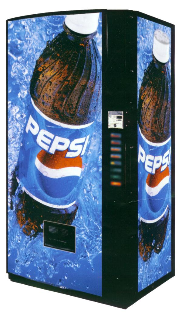 vending pepsi bottle big