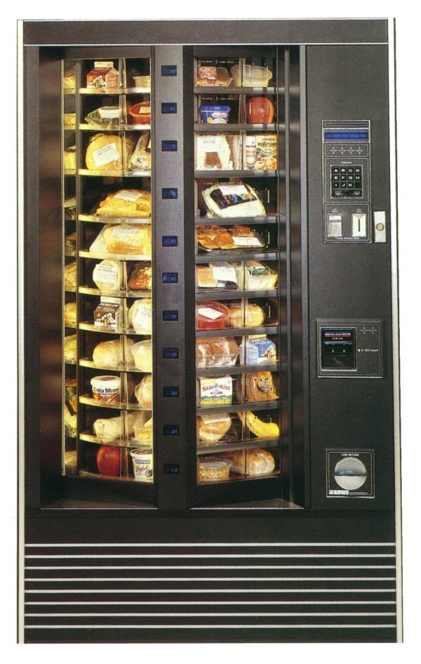 refridgerated vending machine